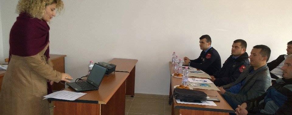 """""""Trajnim mbi rritjen e kapaciteteve të Uniformave Blu në Urën Vajgurore, Berat"""""""